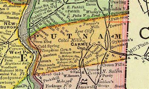 Putnam County Ny Property Records Map Of Putnam County Ny My
