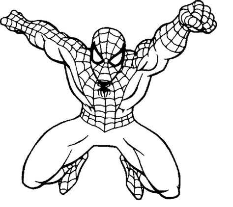 spiderman coloring page spiderman coloring page download for free print