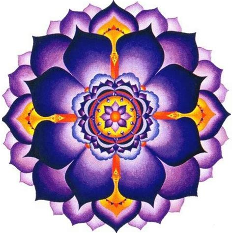 purple lotus mandala tattoo pictures to pin on pinterest