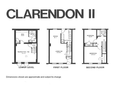 fairlington floor plans clarendon2 model floor plan fairlington historic district