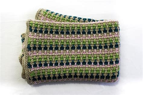 slip stitch seam knitting slip stitch baby blanket by alma mahler craftsy
