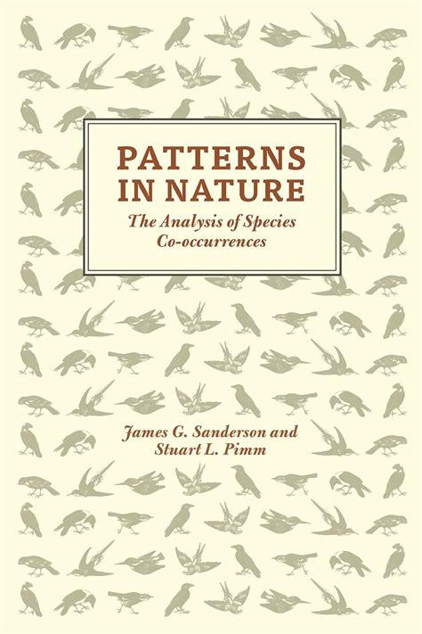 patterns of nature book patterns in nature the analysis of species co occurrences
