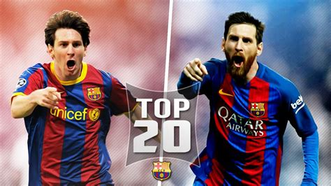 short biography of lionel messi in english lionel messi top 20 goals out of all 500 for barcelona