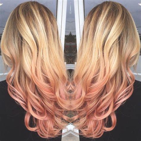 rose gold blonde hair color instagram photo by salon202 via ink361 com hair