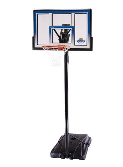 backyard basketball hoop lifetime 51550 courtside portable basketball hoop review