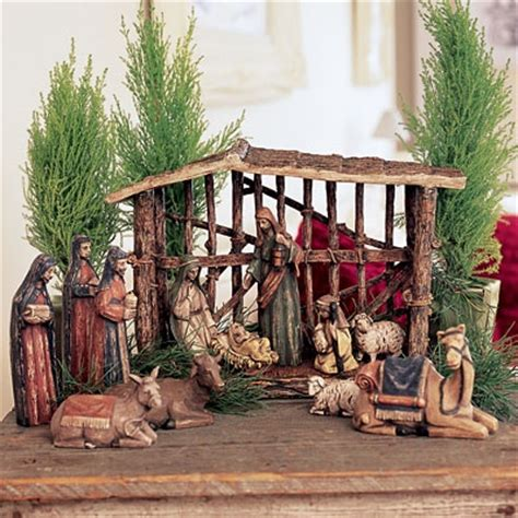 santos nativity set stable only 15 references