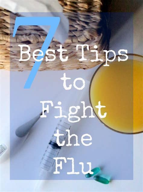 8 Tips To Fight A Cold by 7 Best Tips To Fight The Flu