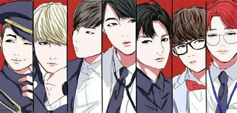 bts anime pictures anime comics edition of font b bts b font classic photo