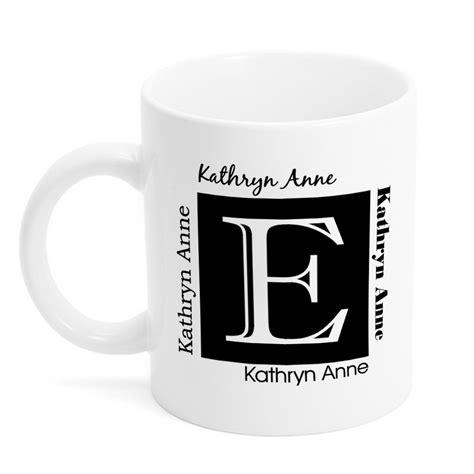 personalized name mug