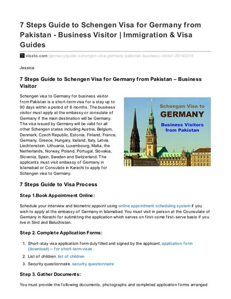 Invitation Letter For Visitor Visa Germany sle invitation letter to visit germany proyectoportal