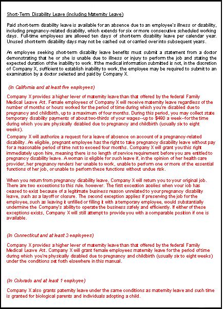 employee handbook template canada screenshots of employee handbook template