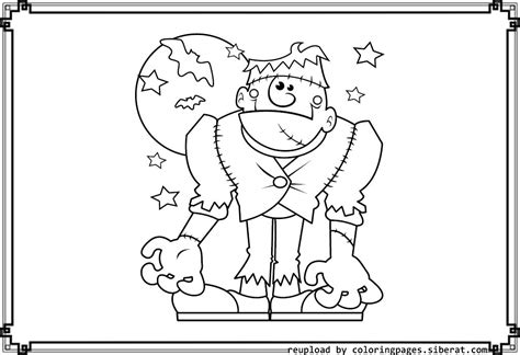 coloring pages of halloween monsters cute halloween monsters coloring pages festival collections