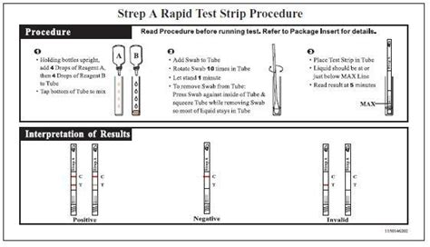 rapid strep test kit strep a test buy strep test