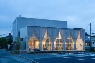 Transparent Extension Designed For A Modern Hair Salon Architectural Design Vision