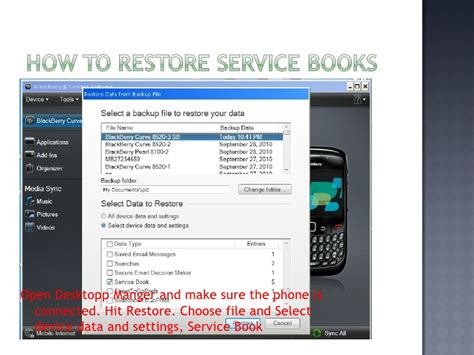 reset blackberry service books blackberry service book guide