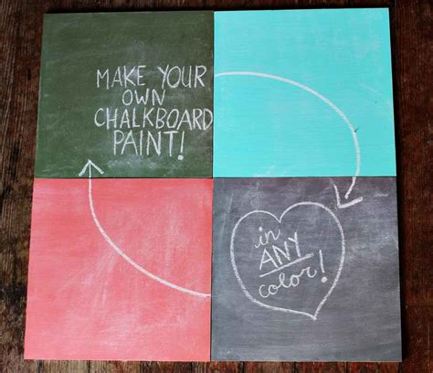 diy for chalk paint diy chalkboard paint tutorial kitskorner