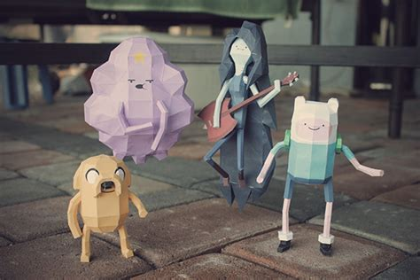 Adventure Time Paper Crafts - adventure time papercrafts on behance