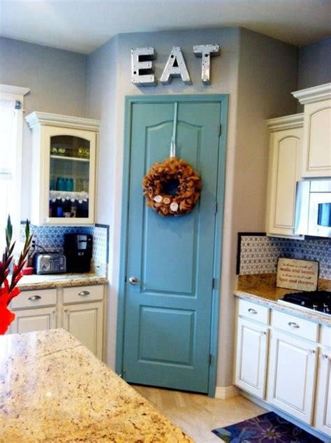 Kitchen Cabinet Door Painting Ideas Best 25 Painted Pantry Doors Ideas On Industrial Farmhouse Kitchen Corner Pantry
