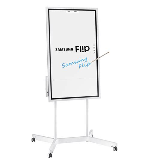 Samsung Flip samsung flip wm55h lavagna digitale mobile per riunioni