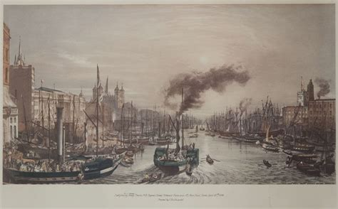 thames river during the industrial revolution crossing the thames
