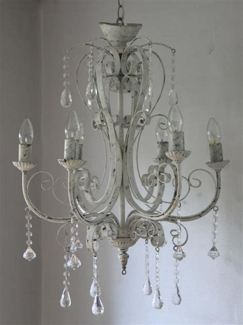 kronleuchter shabby chic chandelier light fitting distressed ceiling
