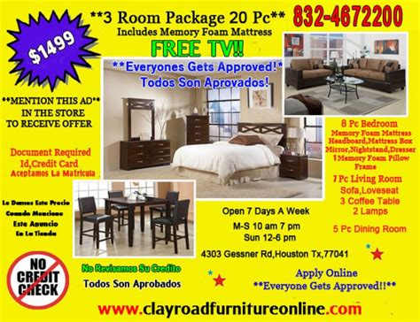 Room Packages by 1499 3 Room Package Includes Mattress Free Tv