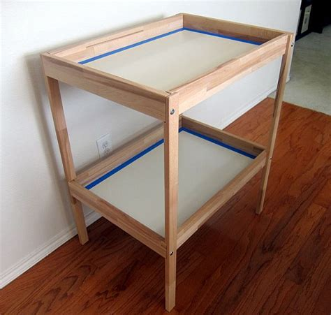 turn ikea dresser into changing table creative diy project changing table turned into an office