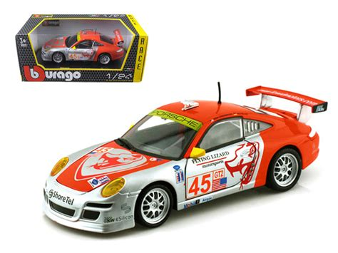 Porsche 45 Flying Lizard 911 Gt3 Rsr by Diecast Model Cars Wholesale Toys Dropshipper Drop