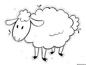 ovejas dibujos colorear