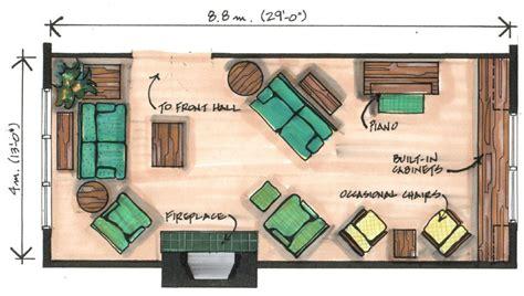 angled furniture arrangements works   narrow room