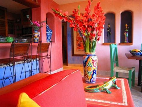 interior design in mexican style one decor