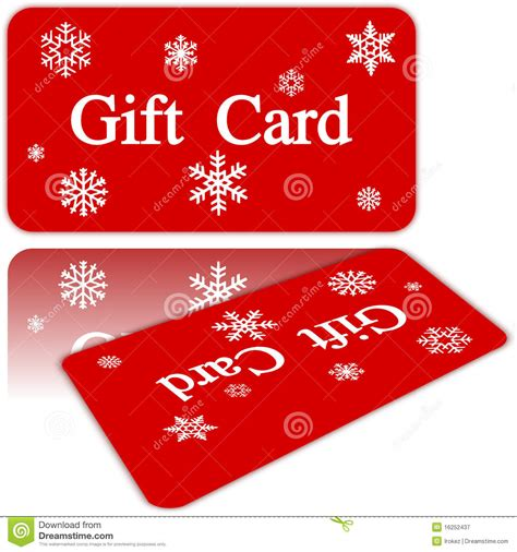 Stk Gift Card - christmas gift card royalty free stock photography image 16252437