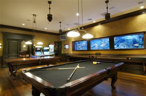 how to decorate a room with a pool table classic pool table ceiling hanging lights and wall