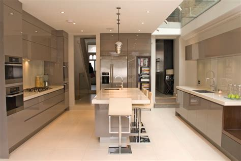 Cabinet Huchet by Portfolio Contemporary Kitchen Cambridgeshire By