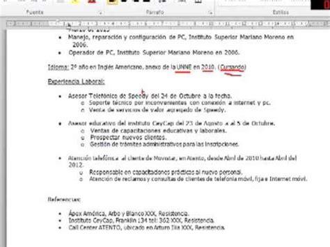 Modelo De Curriculum Vitae Basico Argentina Modelos Curriculum Vitae Basico Relacionados Con Modelos Curriculum Vitae Basico