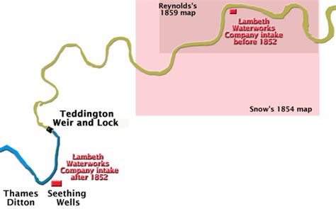 non tidal river thames map new intake of lambeth water company