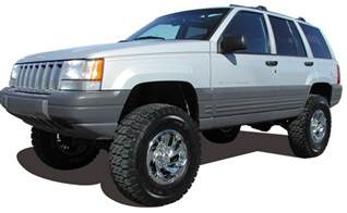 jeep grand commander lift kits tuff country