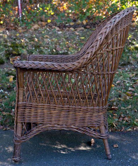 Antique Wicker Chair by Antique Wicker Chair At 1stdibs