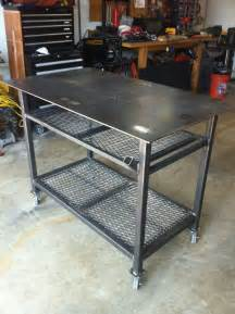 Woodworking Bench Tops For Sale by Welding Table On Pinterest Welding Projects Welding And Metal Fabrication