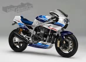 Suzuki Rx 750 Racing Caf 232 Caf 232 Racer Concepts Suzuki Gsx R 1100 By