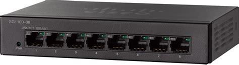 Switch Cisco 8 Port Gigabit cisco sg110d08 switch 8 port gigabit ethernet bei reichelt elektronik