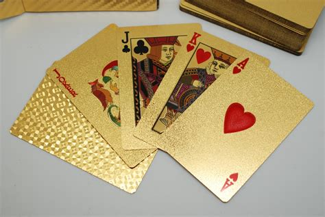 Where To Buy Gold Class Gift Cards - 24k gold plated playing cards ivip blackbox
