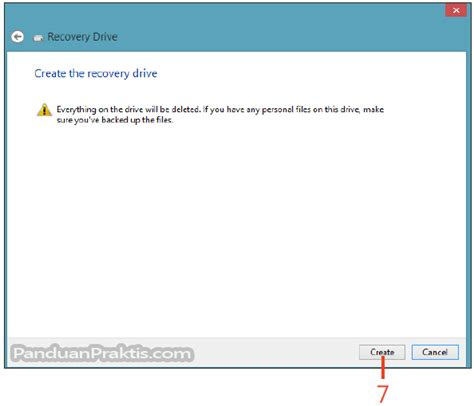 membuat dvd recovery windows 8 cara membuat drive recovery di windows 8 1