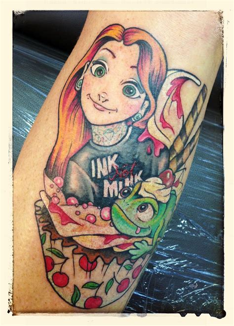 age old youngster tattoo trends disney princess