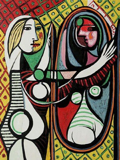 picasso paintings in mirror before a mirror ii painting pablo picasso