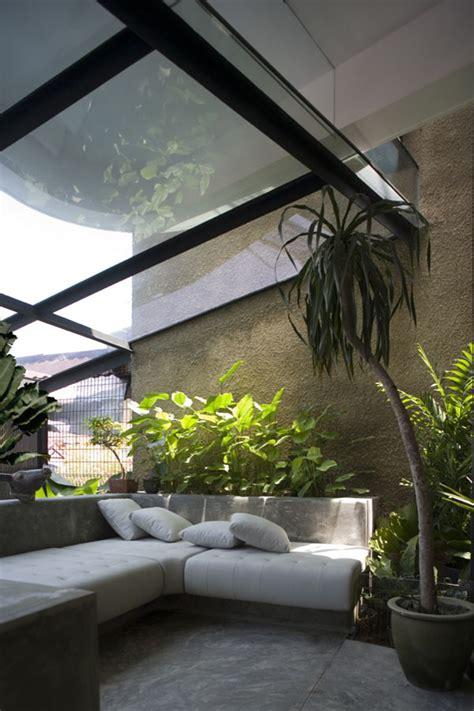 House Design With Interior Garden Stunning Indoor Gardens Create Seamless Human Nature