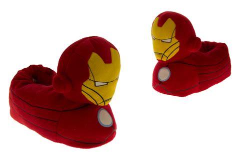 marvel slippers boys iron novelty slippers official
