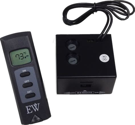 remote for fireplace everwarm thermostat rermote for gas logs s gas