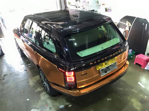 range rover rose copper rose range rover sport by impressive wrap carz tuning