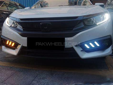 Cover Fogl Drl Honda All New Civic 12 Esuse Hd061 Ims honda civic 2016 mustang style drl fog light covers parts accessories 2263894 pakwheels